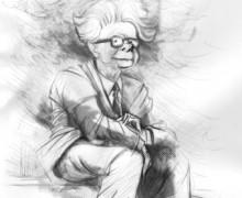 Elias Canetti por Ramon Muniz