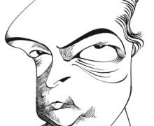 Enrique Vila-Matas por Osvalter