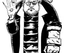 Guillermo del Toro por Ramon MUniz