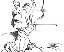 Jorge Luis Borges por Osvalter