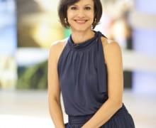A jornalista Lorena Calabria