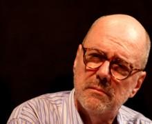 João Gilberto Noll no Paiol Literário. Foto: Matheus Dias