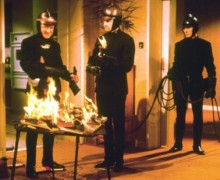 Cena de Fahrenheit 451