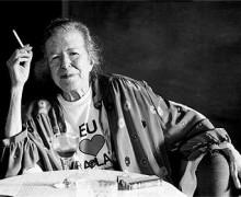 Hilda Hilst. Foto: Divulgação