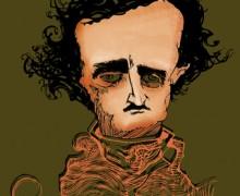 Edgar Allan Poe por Ramon Muniz