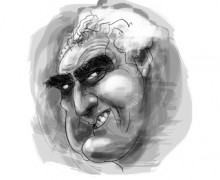 Milton Hatoum por Ramon Muniz