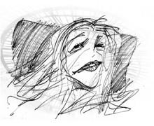 Susan Sontag por Ramon Muniz