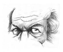 Carlos Fuentes por Ramon Muniz