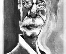 W. G. Sebald por Ramon Muniz