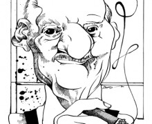 Carlos Heitor Cony por Osvalter