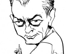 Paul Auster por Ramon Muniz