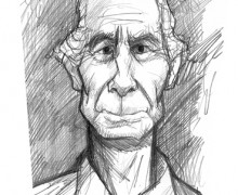 Philip Roth por Ramon Muniz