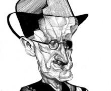 James Joyce por Robson Vilalba