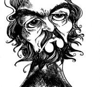 Julio Cortázar por Osvalter