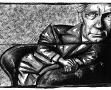 William Gaddis por Robson Vilalba