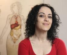 "Marcia Tiburi, autora de ""Era meu esse rosto"""