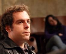 Daniel Galera no Paiol Literário. Foto: Matheus Dias