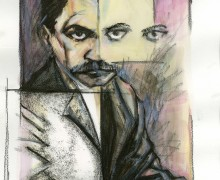 Rainer Maria Rilke por Robson Vilalba