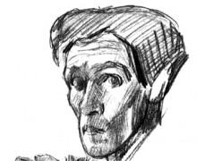 Auto-retrato de Bruno Schulz/Acervo do Museu de Literatura Adam Mickiewicz, Varsovia