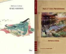 Capas das edições brasileira e americana de Rakushisha