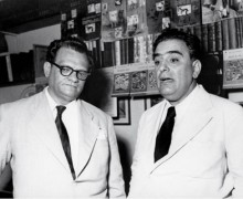 Jose Lins do Rego e José Olympio. Foto: Divulgação