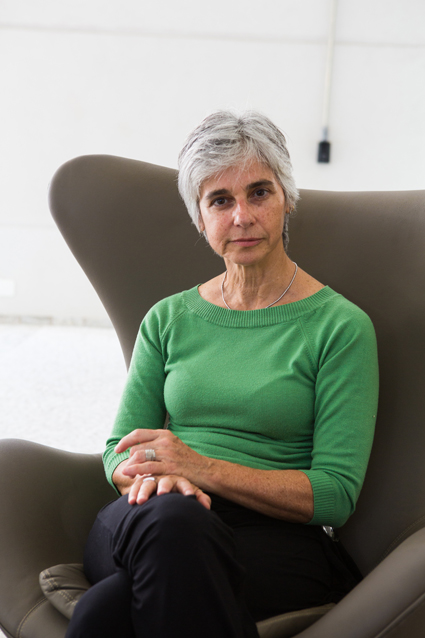 "Suzana Montoro, autora de ""Os hungareses"". Fotos: Juliana Mozart"