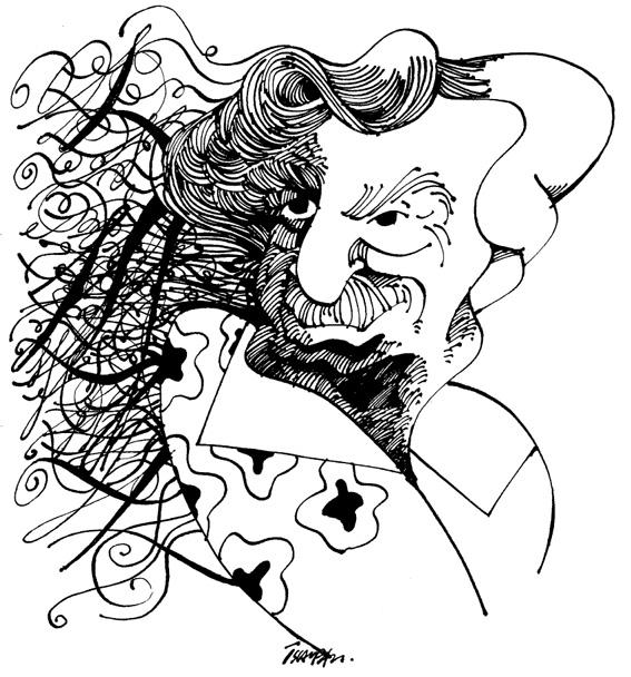 Jorge Amado por Osvalter