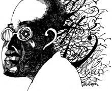 Mário de Andrade por Osvalter