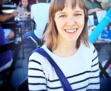 Alice Sant'Anna durante a Flip 2013