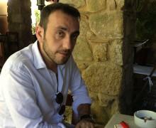 O escritor francês Jérôme Ferrari em Paraty, durante a Flip 2013