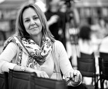 """María Dueñas, autora de """"A melhor história está por vir"""""""