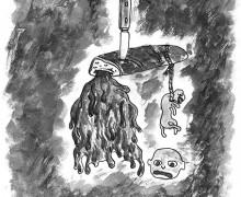 Desenho de Max Blecher (Arquivo do Institutul pentru Cercetarea Avangardei Romaneti i Europene/ Editora Vinea)