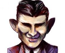 Franz Kafka por Ramon Muniz