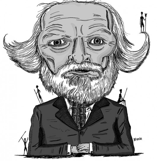William Golding por Dê Almeida