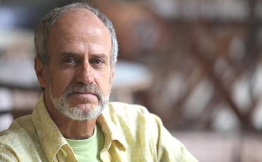 Evandro Affonso Ferreira, vencedor na categoria Romance com O mendigo que sabia de cor os adágios de Erasmo de Rotterdam