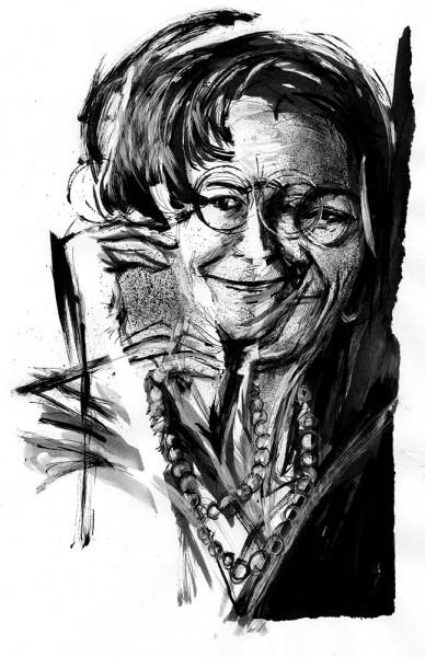 Wisława Szymborska por Robson Vilalba