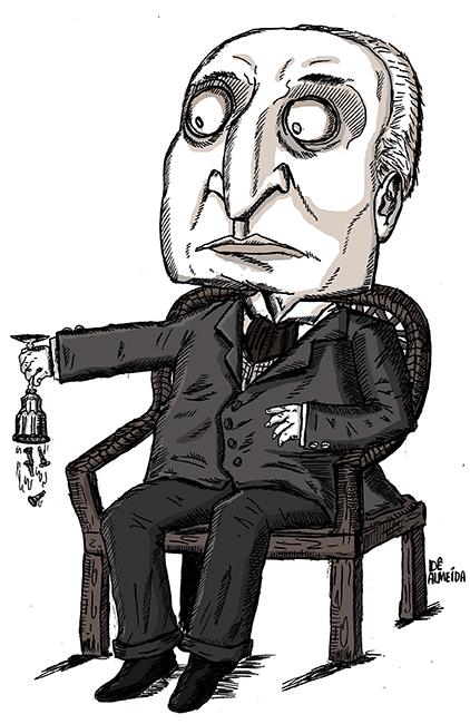 Henry James por Dê Almeida