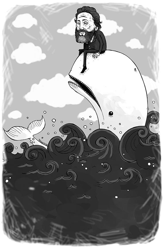 Herman Melville por Tiago Silva