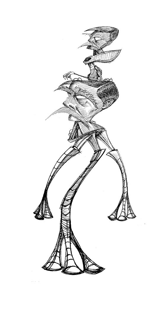 H. G. Wells por Vitor Vanes