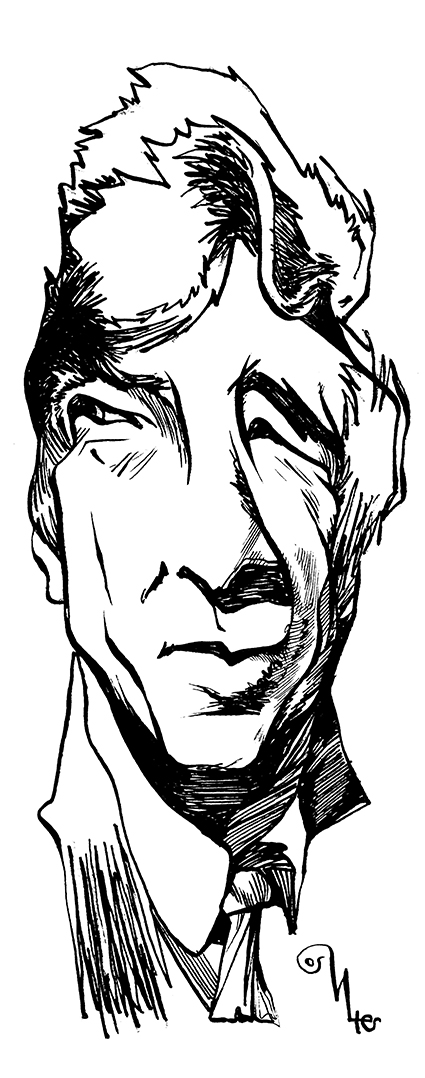 John Updike por Osvalter