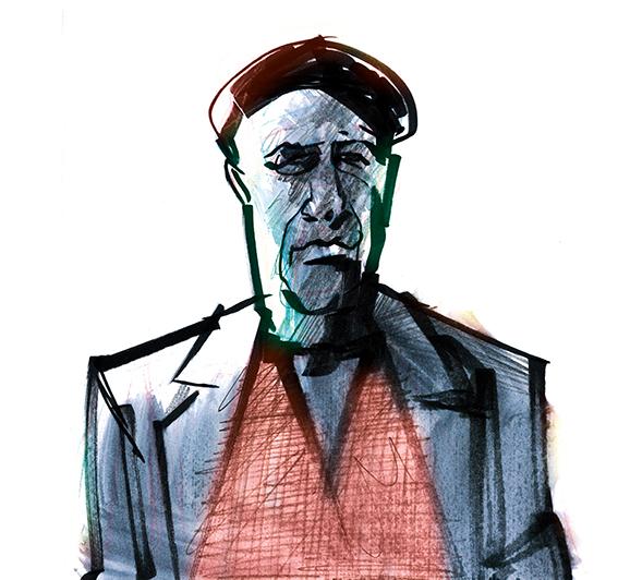 Sándor Márai por Ramon Muniz