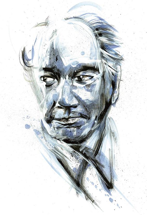 Thomas Bernhard por Robson Vilalba