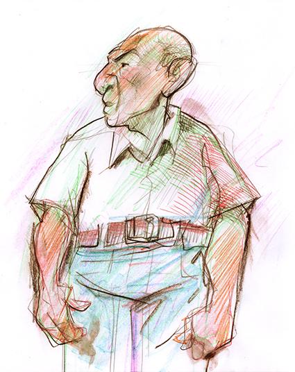 Boris Fausto por Ramon Muniz