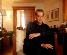 Paul Auster. Foto: Andrew Lichtenstein.
