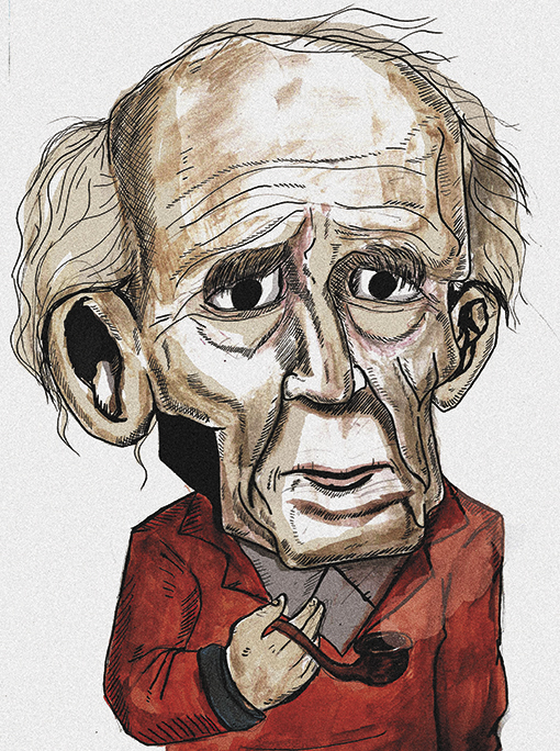Zygmunt Bauman por Dê Almeida