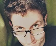 Alex Sens, autor de O frágil toque dos mutilados