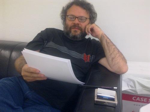 O poeta António Pedro Ribeiro