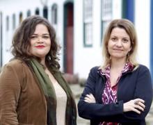 Sheyla Smanioto e Marta Barcellos, vencedoras do Prêmio Sesc de Literatura 2015