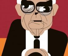 Theodor Adorno por Fábio Abreu
