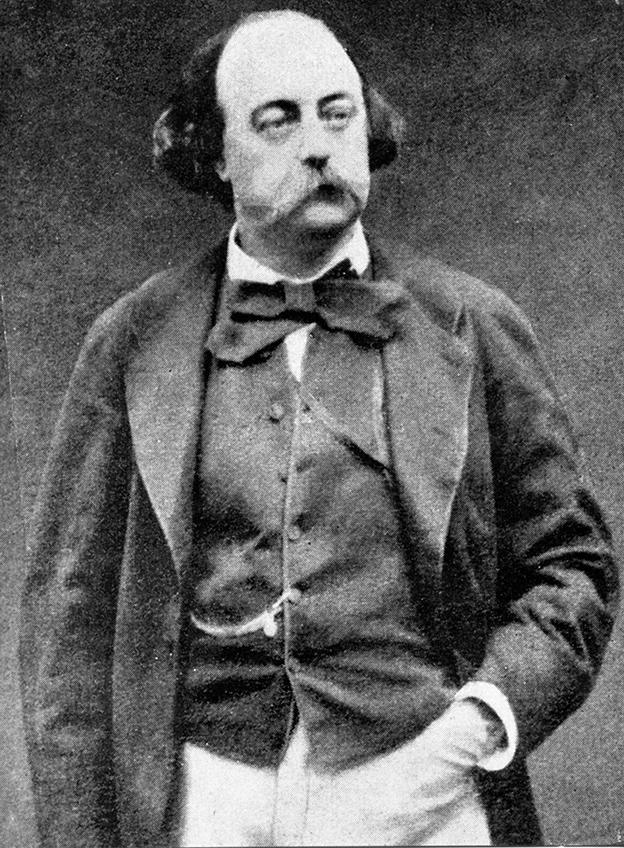Flaubert, autor de Madame Bovary